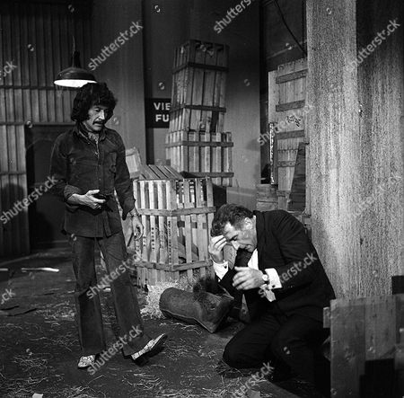 Stock Photo of 'Jason King'  - 'As Easy as A.B.C' - Peter Wyngarde and Nigel Green