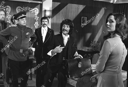 'Jason King'  - 'To Russia with Panache' - Tutte Lemkow, Peter Wyngarde and Pamela Salem