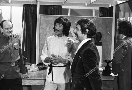 Stock Picture of 'Jason King'  - 'To Russia with Panache' - Peter Wyngarde and Tutte Lemkow