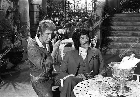 Stock Image of 'Jason King' - 'All That Glisters - Part 1' - Clinton Greyn and Peter Wyngarde