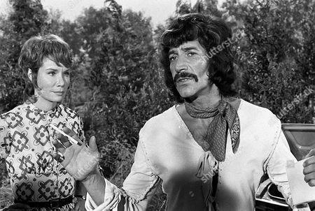 'Jason King'  - 'Zenia' - Patricia English and Peter Wyngarde