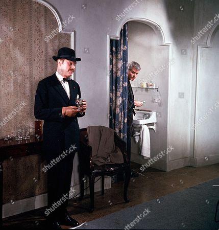 'Man in a Suitcase' - 'Blind Spot' - Marius Goring and Richard Bradford