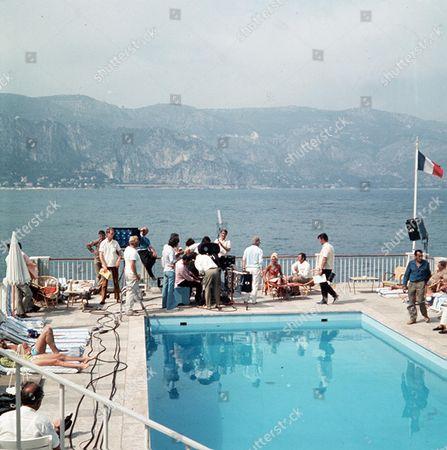 'The Persuaders'  - 'Overture' - Imogen Hassall, Roger Moore, Filming, behind the scenes.