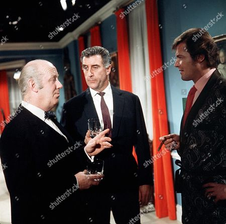 'The Persuaders'  - 'Read and Destroy' -  William Mervyn, Nigel Green and Roger Moore