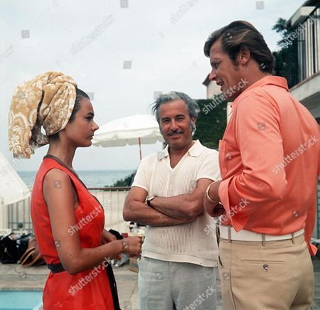 'The Persuaders'  - 'Overture' - Imogen Hassall and Roger Moore.