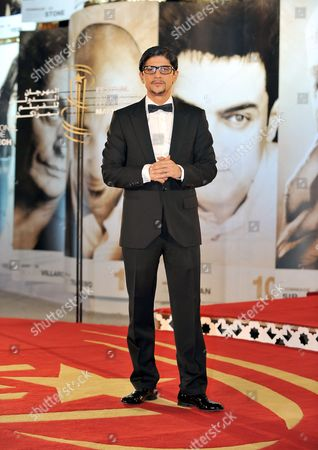 French-moroccan Actor Said Taghmaoui Poses For a Photograph at the 10th Marrakech International Film Festival in Marrakech Morocco on 08 December 2010 Morocco Marrakech