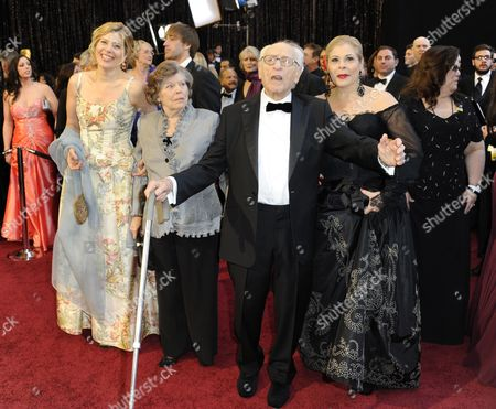 Stock Photo of Us Actor Eli Wallach Arrives For the 83rd Annual Academy Awards at the Kodak Theatre in Hollywood California Usa 27 February 2011 the Oscars Are Presented For Outstanding Individual Or Collective Efforts in Up to 25 Categories in Filmmaking United States Hollywood
