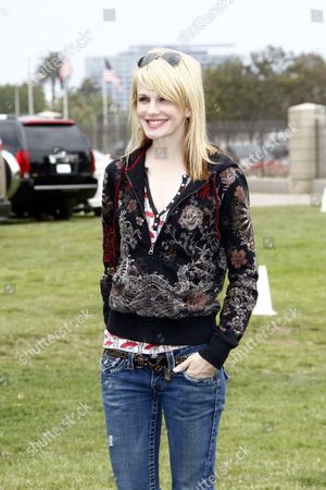 Us Actress Kathryn Morris Arrives at the 21st Annual a Time For Heroes Celebrity Picnic in Los Angeles California Usa 13 June 2010 the Event is Sponsored by Disney and Benefits the Elizabeth Glaser Pediatric Aids Foundation United States Los Angeles