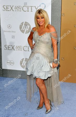 Stock Photo of Us Actress Suzanne Sommers Attends the Premiere of 'Sex and the City 2' at Radio City Music Hall 24 May 2010 United States New York