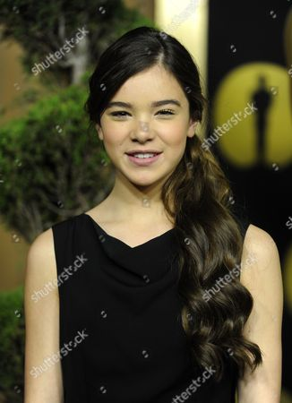 Stock Image of Us Actress Hailee Steinfield Arrives For the 83rd Academy Awards Nominees Luncheon in Beverly Hills California Usa 07 February 2011 Steinfield For Best Supporting Actress For Her Role in 'True Grit' United States Beverly Hills