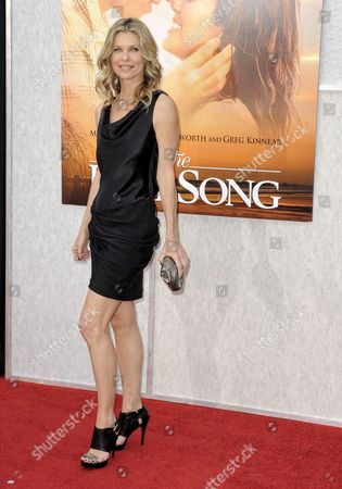 Us Actress and Cast Member Kate Vernon Arrives For the Premiere of 'The Last Song' in Hollywood California Usa 25 March 2010 Vernon Plays the Role of 'Susan Blakelee' in This Story of First Love United States Hollywood