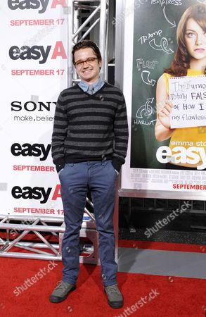 Us Actor and Cast Member Dan Byrd Arrives For the 'Easy A' Premiere in Los Angeles California Usa 13 September 2010 'Easy A' is the Story of a High School Girl Who's Life Begins to Parallel Hester Prynne's in 'The Scarlett Letter' After a Little White Lie About Losing Her Virginity Gets out at School United States Los Angeles