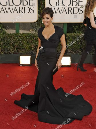 Us Actress Eva Longoria Parker Arrives at the 68th Golden Globe Awards Held at the Beverly Hilton Hotel in Los Angeles California Usa 16 January 2011 United States Los Angeles