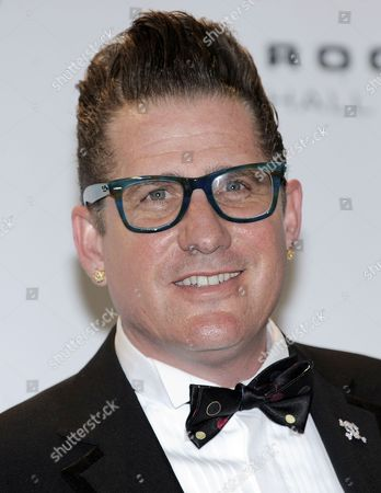 Musician Lee Rocker of the United States Appears in the Press Room at the 2011 Rock and Roll Hall of Fame Induction Ceremony at the Waldorf Astoria Hotel in New York New York Usa on 14 March 2011 United States New York