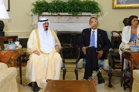 Editorial picture of Usa Saudi Arabia King Abdullah Visit - Jun 2010