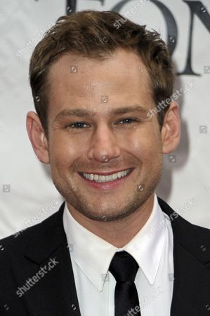 Actor Chad Kimball of the Us Arrives For the 2010 American Theater Wing's Tony Awards at Radio City Music Hall in New York New York Usa 13 June 2010 the Annual Awards Honor Excellence in Broadway Theatre United States New York