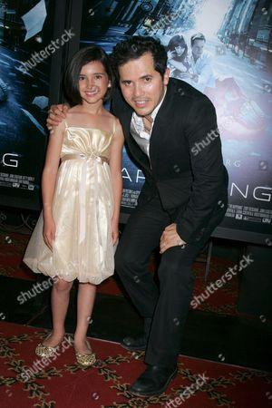 Ashlyn Sanchez and John Leguizamo
