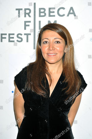 Stock Image of Iranian-american Director Massy Tadjedin Arrives For the Premiere of the Movie 'Last Night' During the 2011 Tribeca Film Festival in New York Usa 26 April 2011 the Tribeca Film Festival Runs Through 01 May 2011 United States New York