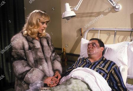'Bloomfield'  TV - 1983 - Carol Hawkins as Trish Gibbs, Michael Elphick as Billy Gibbs.