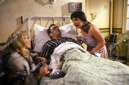 'Bloomfield'  TV - 1983 - Carol Hawkins as Trish Gibbs, Michael Elphick as Billy Gibbs and Claire Toeman as Cherry Gibbs.
