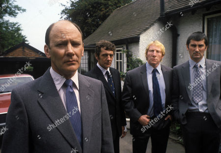 'Bloomfield'  TV - 1983 - Garfield Morgan as Stovall (far left) and Edward Peel as Morgan (far right).