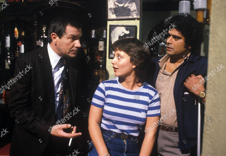 'Bloomfield'  TV - 1983 -  Michael Elphick as Billy Gibbs, Marc Zuber as Bloomfield and Claire Toeman as Cherry Gibbs.