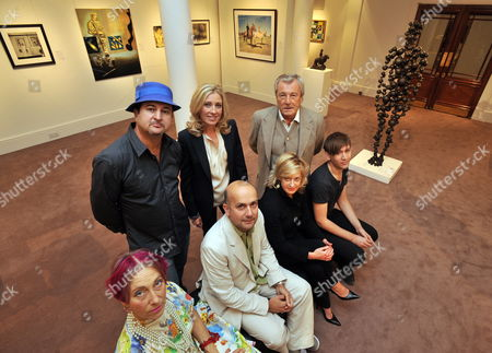 Editorial picture of Britain Arts Charity - Sep 2009