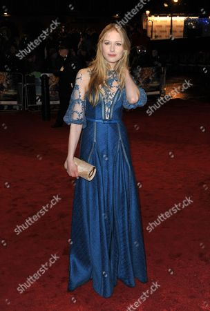 British Actress and Cast Member Laura Brent Arrives at the Royal Film Performance 2010 'The Chronicles of Narnia: the Voyage of the Dawn Treader' World Film Premiere Held at the Odeon Leicester Square in Central London Britain 30 November 2010 Royals and Cast Members Are Due at an Annual Charity Screening in Aid of Cinema & Television Benevolent Fund the Movie by British Director Michael Apted is Due out in British Cinemas on 09 December 2010 United Kingdom London