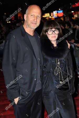 Stock Photo of Australian Director John Hillcoat (l) and Wife Polly Borland (r) Attend the Times Bfi London Film Festival: the Road - Gala Screening Held at the Vue West End in London Britain 16 October 2009 the Movie by Hillcoat is a Post-apocalyptic Drama Based on Cormac Mccarthy's Pulitzer Prize-winning Novel United Kingdom London
