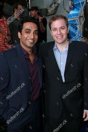 Manu Narayan and Director Marco Schnabel
