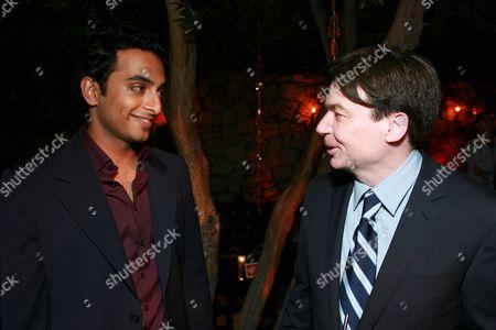 Manu Narayan and Mike Myers
