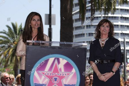 Maria Shriver and Susan Staint James