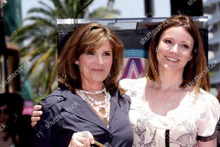 Susan Saint James and Christa Miller