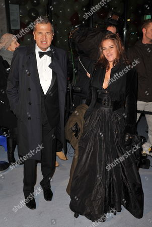 Peruvian Photographer Mario Testino (l) and British Artist Tracey Emin (r) Arrive at the 'Love Ball' Charity Fundraiser Night Held at the Roundhouse in London Britain 23 February 2010 Natalia Vodianova and Harper's Bazaar Editor Lucy Yeomans Host Fundraiser in Aid of Vodianova's Charity the Naked Heart Foundation Raising Money to Build Playgrounds For Children in Her Home Country As Well As Uk Children's Charities the Venue is Transformed Into an Adult Fairground Under the Creative Direction of British Designer Dinos Chapman the Evening Also Includes an Auction of Commissioned Works From Artists Including Jeff Koons Francesco Vezzoli Goscha Ostretsov and Marc Quinn United Kingdom London