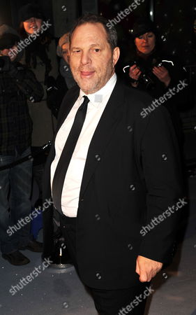 Us Producer Harvey Weinstein Arrives at the 'Love Ball' Charity Fundraiser Night Held at the Roundhouse in London Britain 23 February 2010 Russian Model Natalia Vodianova and Harper's Bazaar Editor Lucy Yeomans Host Fundraiser in Aid of Vodianova's Charity the Naked Heart Foundation Raising Money to Build Playgrounds For Children in Her Home Country As Well As Uk Children's Charities the Venue is Transformed Into an Adult Fairground Under the Creative Direction of British Designer Dinos Chapman the Evening Also Includes an Auction of Commissioned Works From Artists Including Jeff Koons Francesco Vezzoli Goscha Ostretsov and Marc Quinn United Kingdom London