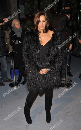 Us Fashion Designer Donna Karan Arrives at the 'Love Ball' Charity Fundraiser Night Held at the Roundhouse in London Britain 23 February 2010 Natalia Vodianova and Harper's Bazaar Editor Lucy Yeomans Host Fundraiser in Aid of Vodianova's Charity the Naked Heart Foundation Raising Money to Build Playgrounds For Children in Her Home Country As Well As Uk Children's Charities the Venue is Transformed Into an Adult Fairground Under the Creative Direction of British Designer Dinos Chapman the Evening Also Includes an Auction of Commissioned Works From Artists Including Jeff Koons Francesco Vezzoli Goscha Ostretsov and Marc Quinn United Kingdom London