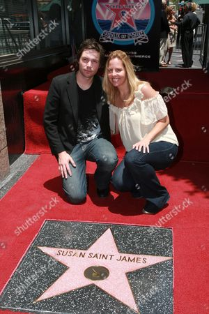 Stock Photo of Michael Johns and wife Stacey Vuduris