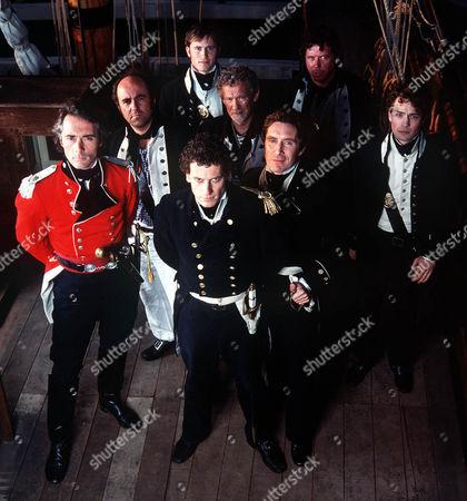 'Hornblower'   TV   Series 3 Picture Shows: Greg Wise, Lorcan Cranitch, Ioan Gruffudd, Paul Mcgann, Paul Copley, Sean Gilder, Jonathan Forbes, Christian Coulson