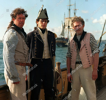 'Hornblower'   TV   Series 3 Picture Shows: Ioan Gruffudd (Hornblower), Sean Gilder (Styles) and Paul Copley (Matthews)