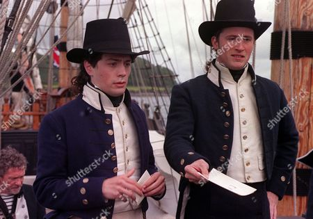 'Hornblower'   TV   Series 3 Picture Shows: Jonathan Forbes (Orrock) and Christian Coulson (Young Hammond)