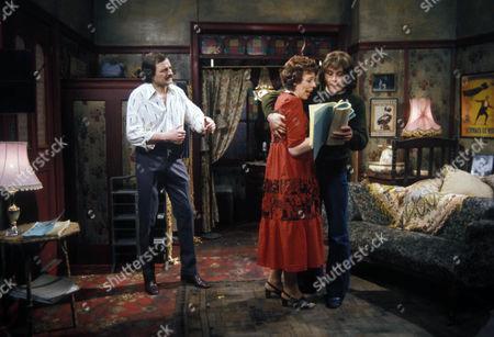 'Rising Damp'   TV Peter Bowles, Francis De La Tour and Richard Beckinsale Stage Struck Series 3 Episode 2