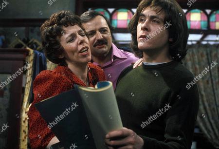 'Rising Damp'   TV Francis De La Tour, Peter Bowles and Richard Beckinsale Stage Struck Series 3 Episode 2
