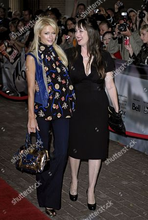 Us Celebrity Paris Hilton (l) and Director Adria Petty Arrive For a Screening of Petty's Film 'Paris not France' at the 33rd Annual Toronto International Film Festival in Toronto Canada On 09 September 2008