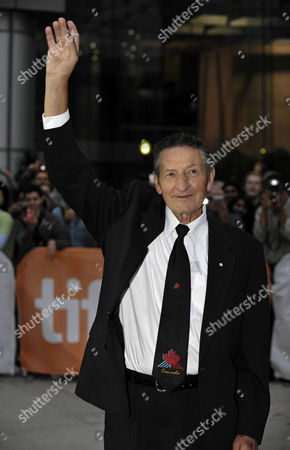 Stock Image of Walter Gretzky Father of Former Nhl Hockey Player and Coach Wayne Gretzky (not Shown) Arrives For the Premiere of the Film 'Score a Hockey Muscial' on the Opening Night of the 35th Annual Toronto International Film Festival in Toronto Canada on 09 September 2010 Canada Toronto