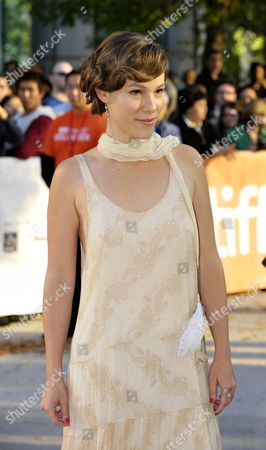 Israeli Actress Romi Aboulafia Attends the Premiere of the Movie 'The Debt' Held at the Roy Thomson Hall During the 35th Annual Toronto International Film Festival in Toronto Canada on 14 September 2010 the International Film Festival Runs 09 to 19 September 2010 Canada Toronto