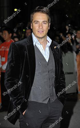 Stock Picture of South African Actor Frank Rautenbach Attends the Premiere of the Movie 'The Bang Bang Club' During the 35th Annual Toronto Film Festival Held at the Roy Thomson Hall in Toronto Canada 15 September 2010 the International Film Festival Runs From 09 to 19 September 2010 Canada Toronto