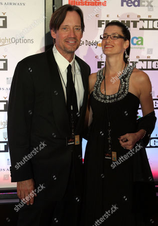 Us Actor Kevin Sorbo and Wife Sam Jenkins Pose on the Red Carpet at the Muhammad Ali Celebrity Fight Night Xvii in Phoenix Arizona Usa on 19 March 2011 United States Phoenix