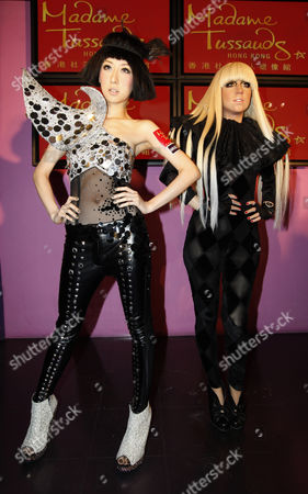 Editorial picture of China Lady Gaga Wax Figure - Dec 2010