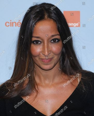 Stock Photo of French Writer and Director Saphia Azzedine Attends the Opening Ceremony of the 14th Annual International Comedy Film Festival in L'alpe D'huez France 18 January 2011 the Movie 'Mon Pere Est Femme De Menage' Directed by Saphia Azzedine is Presented During the Opening Night of the Festival Running From 18 to 23 January France Alpe D'huez