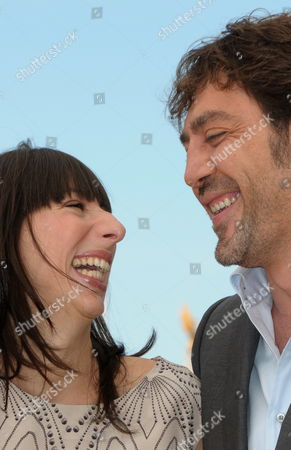 Argentinian Actress Maricel Alvarez (l) and Spanish Actor Javier Bardem (r) Pose During the Photocall of the Movie 'Biutiful' During the 63rd Cannes Film Festival in Cannes France 17 May 2010 the Movie by Alejandro Gonzalez Inarritu is Presented in Competition at the Cannes Film Festival 2010 Running From 12 to 23 May France Cannes